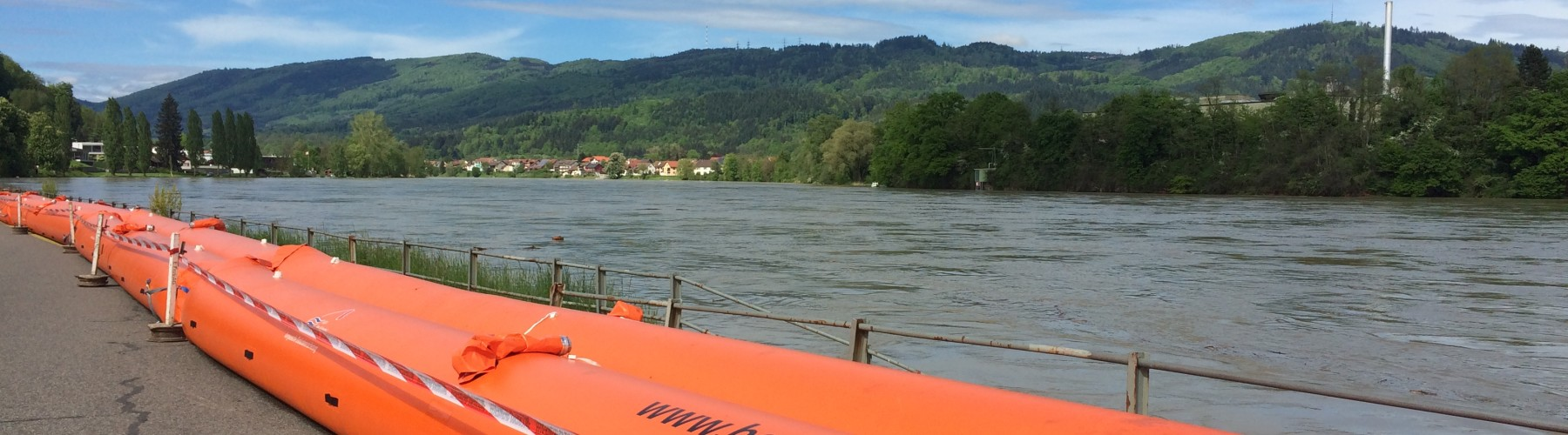 Hochwasser in Wallbach