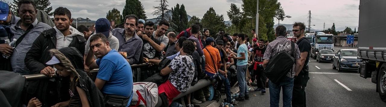 Flüchtlingsstrom